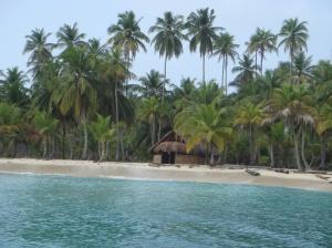 San blas isla casa